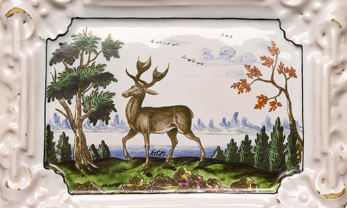 Picture: Painting on faience